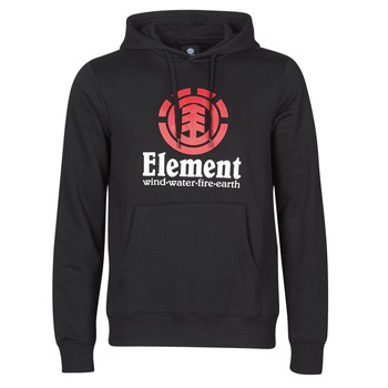 textil Herr Sweatshirts Element VERTICAL HOOD Svart