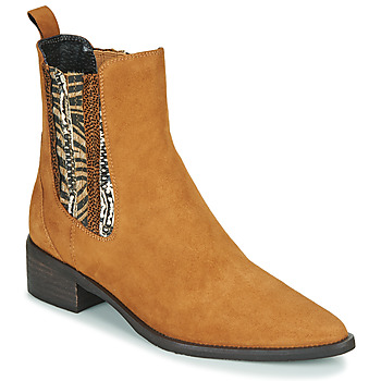 Skor Dam Boots Regard BASTIA V3 VEL HAVANE Brun