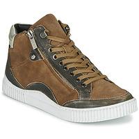 Skor Dam Höga sneakers Regard ISLANDE V2 BONGO CHAMOIS Brun