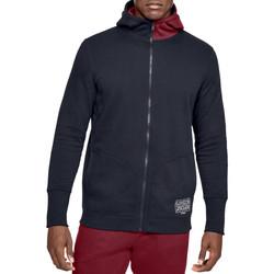 textil Herr Sweatshirts Under Armour Baseline Fleece FZ Hoodie 1343006-002