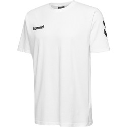textil Barn T-shirts Hummel T-shirt enfant  hmlGO cotton blanc