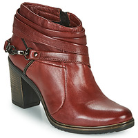 Skor Dam Boots Dream in Green NEGUS Bordeaux