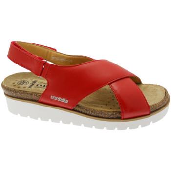Skor Dam Sandaler Mephisto MEPHTALLYro rosso