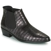 Skor Dam Boots Fericelli NANARUM Svart / Silver