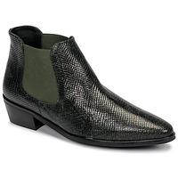 Skor Dam Boots Fericelli NANARUM Svart / Grön