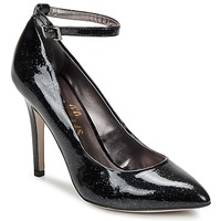 Skor Dam Pumps Shellys London STAR Svart / Glitter