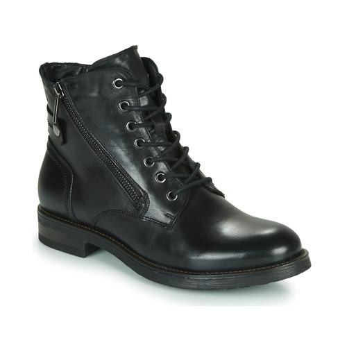 Skor Dam Boots Casual Attitude NUNAISE Svart