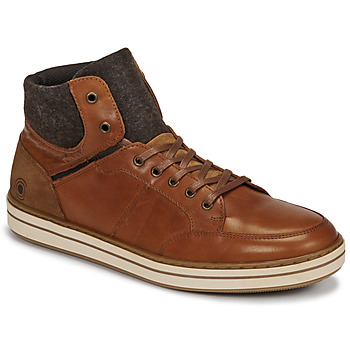 Skor Herr Höga sneakers Casual Attitude NOURDON Kamel