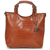 Väskor Dam Handväskor med kort rem Moony Mood EMIRA CROCO Brun