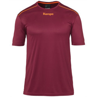 textil Pojkar T-shirts Kempa Maillot  Poly rouge
