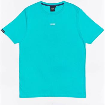 textil Pojkar T-shirts Wrung T-shirt  Caution Reload bleu turquoise/bleu