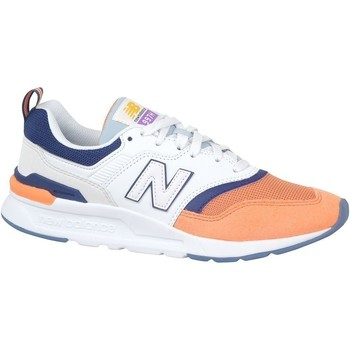 Skor Dam Sneakers New Balance 997 Vit,Orange