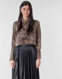 textil Dam Blusar Guess VIVIAN Leopard