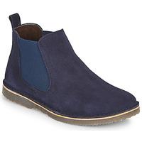 Skor Pojkar Boots Citrouille et Compagnie HOVETTE Marin