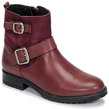 Skor Flickor Boots Citrouille et Compagnie NIVOLE Bordeaux