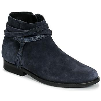 Skor Flickor Boots Citrouille et Compagnie NIVOLET Marin
