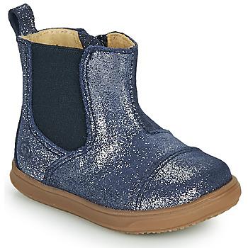 Skor Flickor Boots Citrouille et Compagnie FEPOL Marin
