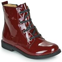 Skor Flickor Boots Citrouille et Compagnie HEMANU Bordeaux