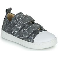 Skor Flickor Sneakers Citrouille et Compagnie NADIR Grå / Silver
