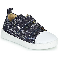 Skor Flickor Sneakers Citrouille et Compagnie NADIR Marin / Silver