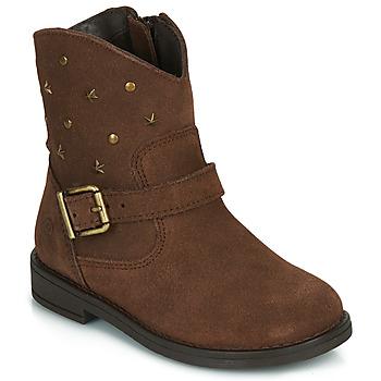 Skor Flickor Boots Citrouille et Compagnie NESTI Brun