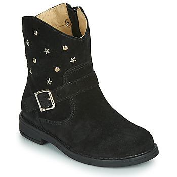 Skor Flickor Boots Citrouille et Compagnie NESTI Svart