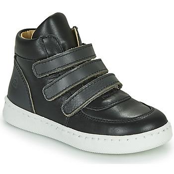 Skor Pojkar Höga sneakers Citrouille et Compagnie NOSTI Svart / Grå