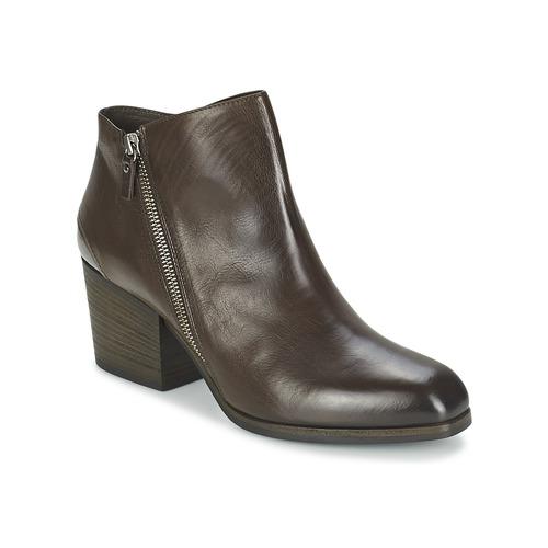 Skor Dam Boots Vic ASSINOU Brun