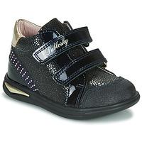 Skor Flickor Höga sneakers Pablosky 87529 Marin
