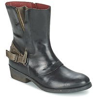 Skor Dam Boots Kickers AMERIKO Svart / Grå