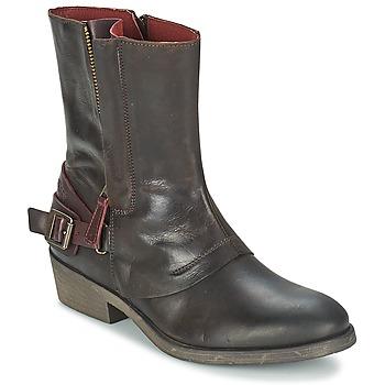 Skor Dam Boots Kickers AMERIKO Brun