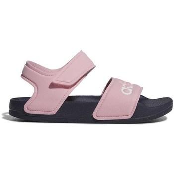Skor Flickor Sandaler adidas Originals Adilette Sandal Rosa