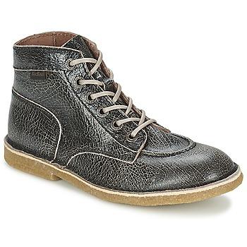 Skor Dam Boots Kickers KICKLEGEND Svart / Blank