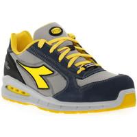 Skor Herr safety shoes Diadora UTILITY RUN NET AIRBOX LOW Blu