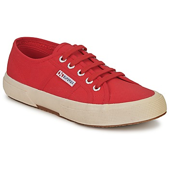 Skor Sneakers Superga 2750 CLASSIC Brun / Röd