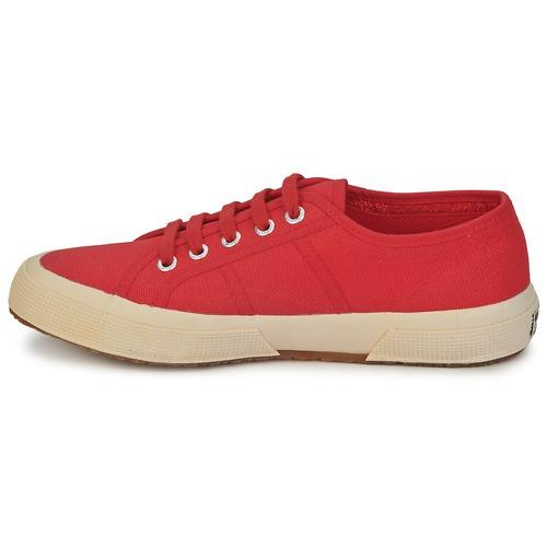 2750 CLASSIC  Superga  sneakers    brun / röd