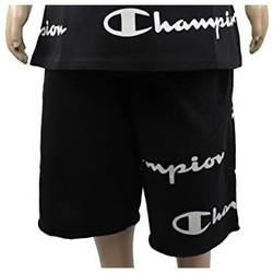 textil Pojkar Shorts / Bermudas Champion Bermuda shorts för pojkar från  (305182-kk001) Svart