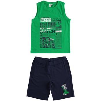 textil Pojkar Set Ido 4J019 Verde/blu