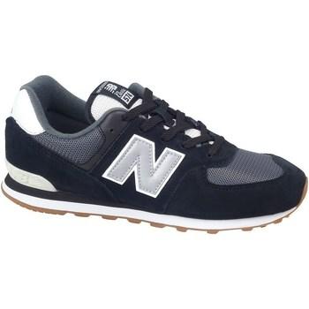 Skor Pojkar Sneakers New Balance 574 Svarta, Gråa