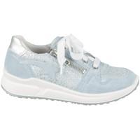 Skor Barn Sneakers Superfit 06061858500 Silver,Blå