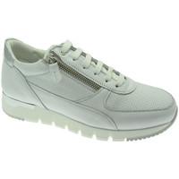 Skor Dam Sneakers Melluso MW09730GDbia bianco