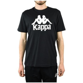 textil Herr T-shirts Kappa Caspar Tshirt Svarta