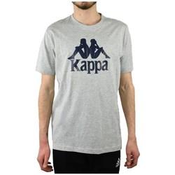 textil Herr T-shirts Kappa Caspar Tshirt Gråa