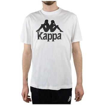 textil Herr T-shirts Kappa Caspar Tshirt Vit