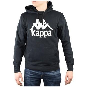 textil Herr Sweatshirts Kappa Taino Hooded Svarta