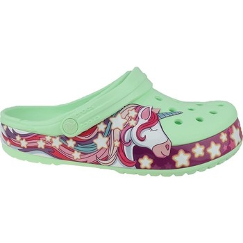 Skor Barn Flip-flops Crocs Fun Lab Unicorn Band Clog Gröna, Rosa