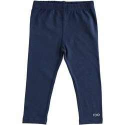 textil Flickor Leggings Ido 4J192 Blu