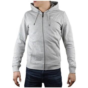 textil Herr Sweatshirts Kappa Veil Hooded Gråa
