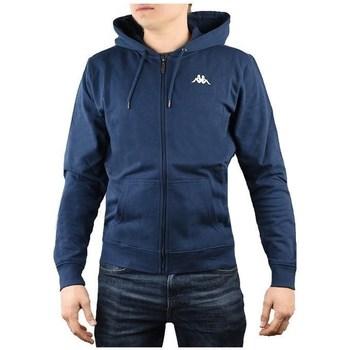 textil Herr Sweatshirts Kappa Veil Hooded Grenade