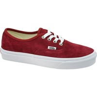 Skor Dam Sneakers Vans Authentic Rödbrunt